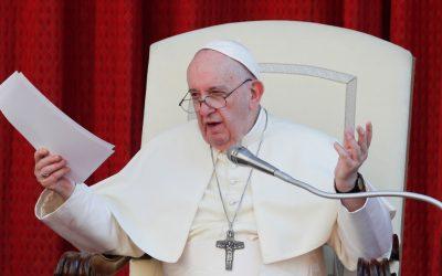 """El papa Francisco afirma que los placeres de comer y sexual son """"simplemente divinos"""""""
